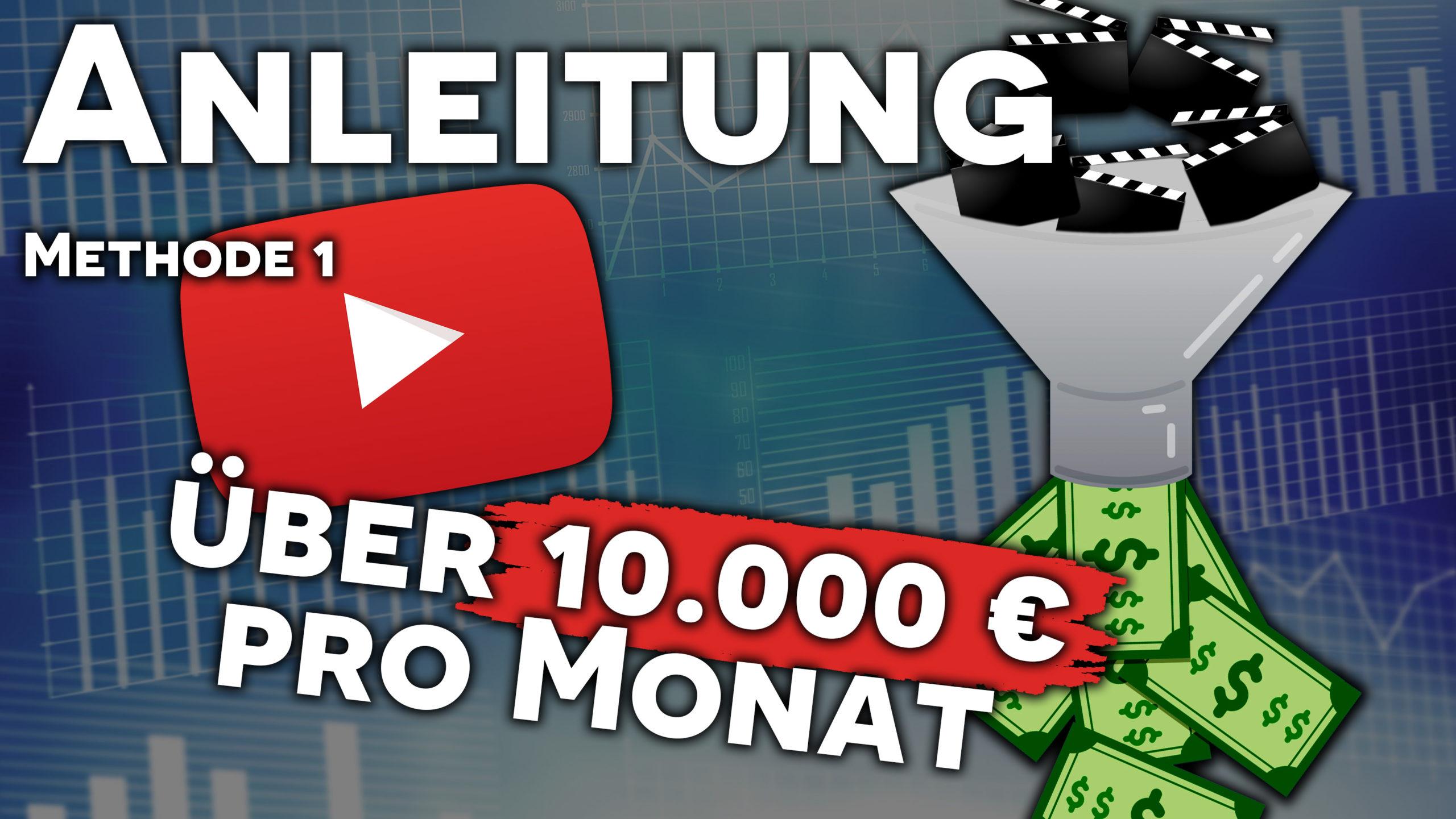 Geld verdienen mit YouTube – Anleitung